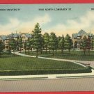 RICHMOND VIRGINIA UNION UNIVERSITY 1943  POSTCARD
