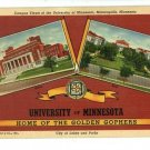 MINNEAPOLIS MN UNIVERSITY OF MINNESOTA  POSTCARD