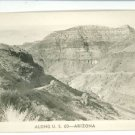 RPPC ALONG U.S. 60 ARIZONA AZ REAL PHOTO POSTCARD