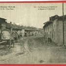 LA GUERRE VISE PARIS FRANCE VERDUN SUBURB 1918 POSTCARD