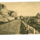 WALL SOUTH DAKOTA CEDAR PASS BADLANDS HUSTEAD POSTCARD