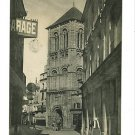POITIERS FRANCE GARAGE PEOPLE SHOPS  PORCHAIRE POSTCARD