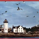 CAPE ANN MA MASS  ANNISQUAM LIGHT LIGHTHOUSE  POSTCARD