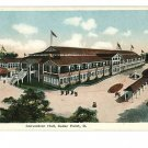 CEDAR POINT OHIO OH CONVENTION HALL ALEXANDER POSTCARD