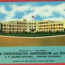 DENVER CO SPEARS CHIROPRACTIC SANITARIUIM HOSP POSTCARD