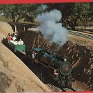 CALISTOGA CALIFORNIA STEAM RAILROAD SILVERADO  POSTCARD