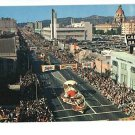 PASADENA CALIFORNIA TOURNAMENT OF ROSES PARADE POSTCARD