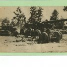 SPARTA WISCONSIN WI MILITARY EQUIPMENT CANNON POSTCARD