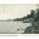 FOREST LAKE MINNESOTA MN 1911 POSTCARD DOCKS