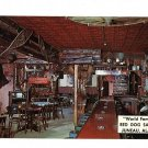 JUNEAU ALASKA RED DOG SALOON INTERIOR KANOUSE POSTCARD
