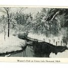 SHERWOOD MICHIGAN MI WEAVER'S PARK  POSTCARD HERBERT