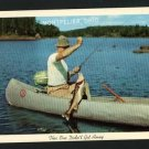 MONTPELIER OHIO OH  FISHING JOHNSON OUTBOARD   POSTCARD