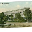 MT CLEMENS MI MICHIGAN PARK HOTEL POSTCARD
