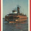 DONGAN HILLS STEAMBOAT SHIP BOAT C. B. MITCHELL CARD