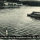 WISCONSIN DELLS WI AMPHIBIOUS DUCK CRUISING RIVER