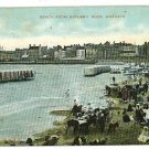 MARGATE UK BEACH FROM NAYLAND ROCK KENT  POSTCARD