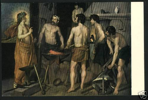 MUSEUM DEL PRADO SPAIN LA FRAGUA VELAZQUEZ  POSTCARD