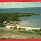 THESSALON CANADA CAROLYN BEACH MOTEL RESTARNT. POSTCARD
