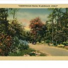 WAKEMAN OHIO OH GREETINGS FROM POSTCARD