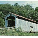 DECATURVILLE OH OHIO COVERED BRIDGE 1964  POSTCARD