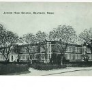 BEATRICE NEBRASKA NE  JUNIOR HIGH SCHOOL  POSTCARD