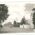 RPPC CALLE DE AGUA PRIETA SON. MEXICO OLD TRUCKS MF