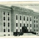 CHARLES CITY IA IOWA FLOYD COUNTY COURT HOUSE POSTCARD