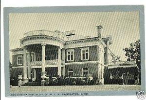 LANCASTER OHIO OH BOYS' INDUSTRIAL SCHOOL 1936 POSTCARD