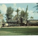 BRADENTON FL FLORIDA CITY OF LOCOMOTIVE POSTCARD