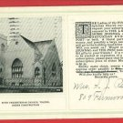 TOLEDO OH 5TH PRESBYTERIAN CHURCH CONSTRUCTION POSTCARD