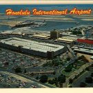 HONOLULU INTERNATIONAL AIRPORT HAWAII HI POSTCARD
