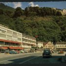 VADUZ Liechtenstein HOTEL ENGEL OLD CARS    POSTCARD
