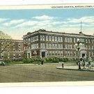 MARSHALLTOWN IA IOWA DEACONESS HOSPITAL POSTCARD