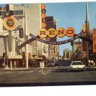 RENO NEVADA CASINO AREA 1960'S HAROLD'S CLUB  POSTCARD