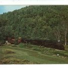 NICKEL PLATE BELLOWS FALLS VT TRAIN ENGINE  POSTCARD