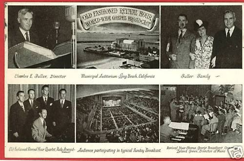 LONG BEACH CALIFORNIA GOSPEL BROADCAST REVIVAL POSTCARD
