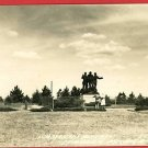 RPPC STANDISH MICHIGAN MI LUMBERMAN'S MONUMENT POSTCARD
