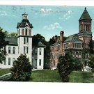 ANGOLA INDIANA IN TRI-STATE COLLEGE 1914 POSTCARD