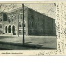 JACKSON Michigan MI ELK'S TEMPLE 1905  POSTCARD