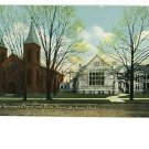 Jackson MI Michigan St Paul's Episcopal Guild  Postcard