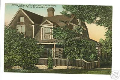 Geneva IN Limberlost Hand-Colored Postcard Porter 1912