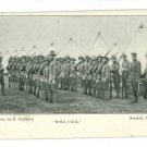 MILITARY ROLL CALL NEWARK NJ GOLDBERG 1905  POSTCARD