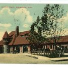 KALAMAZOO MI MICHIGAN MICHIGAN CENTRAL DEPOT  POSTCARD