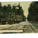 SAN JOSE CA N. FIRST ST STREETCAR LINE 1912 POSTCARD