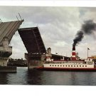 CENTENNIAL QUEEN  STEAM SHIP PORTLAND OREGON POSTCARD