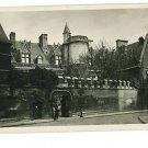 RPPC Musee de Cluny  Museum Paris Real Photo Postcard