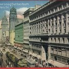 SAN FRANCISCO CALIFORNIA MARKET ST STREET CARS POSTCARD