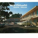 EUGENE OREGON   MOTEL CONTINENTAL OLD CARS MOOD SEATTLE