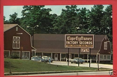 NORGE VA VIRGINIA CAPE CRAFT PINE OF VIRGINIA  POSTCARD