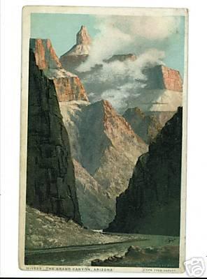 GRAND CANYON ARIZONA FRED HARVEY DET PUB H-1523 1920